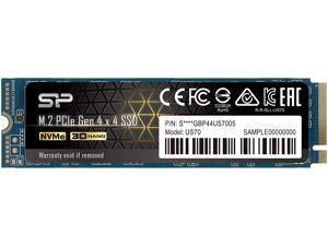 Silicon Power US70 M.2 2280 2TB PCI-Express 4.0 x4, NVMe 1.3 3D NAND Internal Solid State Drive (SSD) SP02KGBP44US7005