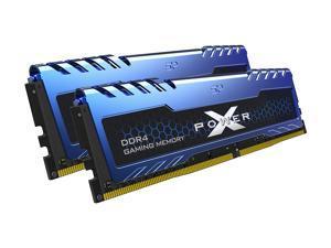 Silicon Power 16GB (2 x 8GB) DDR4 3200 (PC4 25600) 288-Pin XPOWER Turbine DDR4 SDRAM Desktop Memory Model SP016GXLZU320BDA