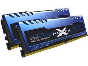 Silicon Power 32GB (2 x 16GB) DDR4 3200 (PC4 25600) 288-Pin XPOWER Turbine DDR4 SDRAM Desktop Memory Model SP032GXLZU320FDA