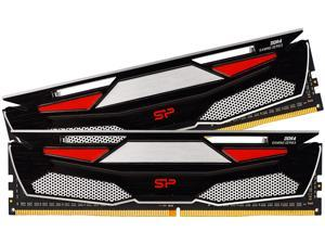 Silicon Power 32GB (2 x 16GB) 288-Pin DDR4 SDRAM DDR4 3200 (PC4 25600) Desktop Memory Model SP032GXLZU320BDAAD