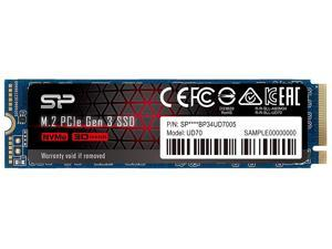 Silicon Power UD70 M.2 2280 1TB PCI-Express 3.0 x4, NVMe 1.3 3D QLC Internal Solid State Drive (SSD) SP01KGBP34UD7005