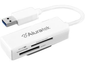 Aluratek AUCR300F USB 3.0 Multi-Media Card Reader