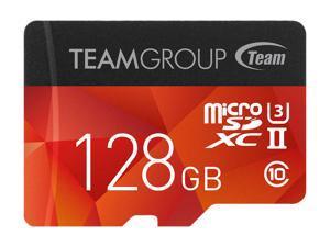Team 128GB Xtreem microSDXC UHS-II/U3 Memory Card with Adapter, Speed Up to 250MB/s, Lifetime Warranty (TCUSDX128GUHSII44)