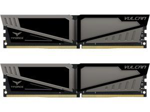 Team T-Force Vulcan 16GB (2 x 8GB) 288-Pin DDR4 SDRAM DDR4 2400 (PC4 19200) Desktop Memory Model TLGD416G2400HC14DC01
