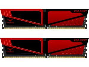Team T-Force Vulcan 16GB (2 x 8GB) 288-Pin DDR4 SDRAM DDR4 3000 (PC4 24000) Memory (Desktop Memory) Model TLRED416G3000HC16CDC01