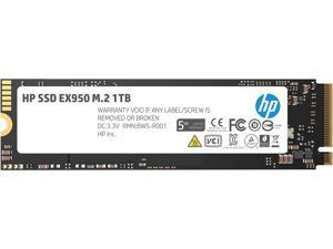 HP EX950 M.2 2280 1TB PCle Gen3 x4, NVMe1.3 3D NAND Internal Solid State Drive (SSD) 5MS23AA#ABC