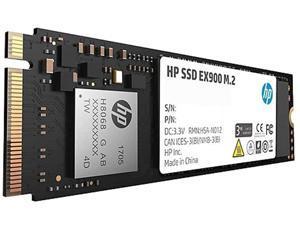 HP EX900 M.2 2280 1TB PCIe Gen 3 x4, NVMe 1.3 3D TLC Internal Solid State Drive (SSD) 2YY47AA ABC