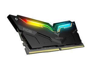 Team T-Force Night Hawk RGB 16GB (2 x 8GB) 288-Pin DDR4 SDRAM DDR4 3200 (PC4 25600) Desktop Memory Model TF1D416G3200HC16CDC01