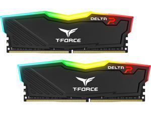 Team T-Force Delta RGB 32GB (2 x 16GB) 288-Pin DDR4 SDRAM DDR4 3000 (PC4 24000) Desktop Memory Model TF3D432G3000HC16CDC01