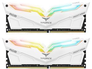 Team T-Force Night Hawk RGB 32GB (2 x 16GB) 288-Pin DDR4 SDRAM DDR4 3000 (PC4 24000) Desktop Memory Model TF2D432G3000HC16CDC01