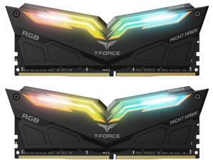Team T-Force Night Hawk RGB 32GB (2 x 16GB) 288-Pin DDR4 SDRAM DDR4 3200 (PC4 25600) Desktop Memory Model TF1D432G3200HC16CDC01
