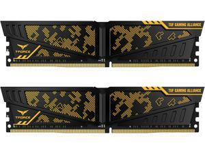 Team T-FORCE VULCAN TUF Gaming Alliance 16GB (2 x 8GB) 288-Pin DDR4 SDRAM DDR4 3600 (PC4 28800) Desktop Memory Model TLTYD416G3600HC19ADC01