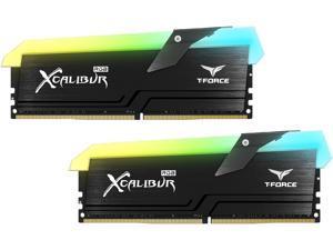 Team T-FORCE XCALIBUR RGB 16GB (2 x 8GB) 288-Pin DDR4 SDRAM DDR4 4000 (PC4 32000) Desktop Memory Model TF5D416G4000HC18EDC01