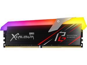 Team XCALIBUR Phantom Gaming RGB 16GB (2 x 8GB) 288-Pin DDR4 SDRAM DDR4 3200 (PC4 25600) Desktop Memory Model TF8D416G3200HC16CDC01