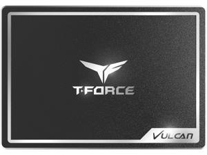 """Team Group T-Force VULCAN 2.5"""" 1TB SATA III 3D NAND Internal Solid State Drive (SSD) T253TV001T3C301"""