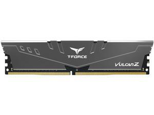 Team T-FORCE VULCAN Z 8GB 288-Pin DDR4 SDRAM DDR4 3000 (PC4 24000) Intel XMP 2.0 Desktop Memory Model TLZGD48G3000HC16C01