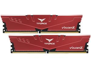 Team T-FORCE VULCAN Z 16GB (2 x 8GB) 288-Pin DDR4 SDRAM DDR4 3200 (PC4 25600) Intel XMP 2.0 Desktop Memory Model TLZRD416G3200HC16CDC01