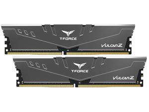 Team T-FORCE VULCAN Z 16GB (2 x 8GB) 288-Pin DDR4 SDRAM DDR4 3000 (PC4 24000) Intel XMP 2.0 Desktop Memory Model TLZGD416G3000HC16CDC01