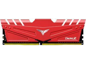 Team T-FORCE DARK Z 8GB 288-Pin DDR4 SDRAM DDR4 3000 (PC4 24000) Desktop Memory Model TDZRD48G3000HC16C01