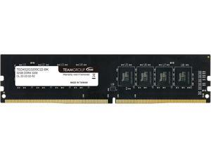 Team Elite 32GB 288-Pin DDR4 SDRAM DDR4 3200 (PC4 25600) Desktop Memory Model TED432G3200C2201
