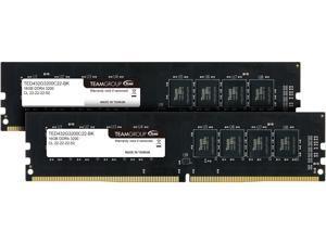 Team Elite 32GB (2 x 16GB) 288-Pin DDR4 SDRAM DDR4 3200 (PC4 25600) Desktop Memory Model TED432G3200C22DC01