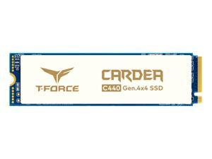 Team Group T-FORCE CARDEA Ceramic C440 M.2 2280 2TB PCIe Gen4 x4 with NVMe 1.3 3D NAND Internal Solid State Drive (SSD) TM8FPA002T0C410
