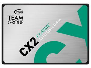 "Team Group CX2 2.5"" 2TB SATA III 3D TLC Internal Solid State Drive (SSD) T253X6002T0C101"