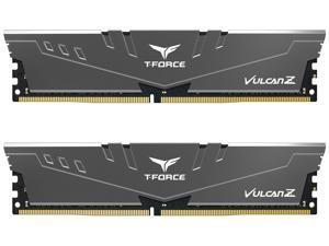 Team T-FORCE VULCAN Z 16GB (2 x 8GB) 288-Pin DDR4 SDRAM DDR4 3200 (PC4 25600) Intel XMP 2.0 Desktop Memory Model TLZGD416G3200HC16FDC01