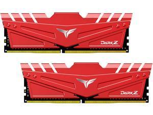 Team T-FORCE DARK Z 32GB (2 x 16GB) 288-Pin DDR4 SDRAM DDR4 3200 (PC4 25600) Intel XMP 2.0 Desktop Memory Model TDZRD432G3200HC16FDC01