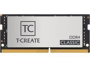Team T-CREATE CLASSIC 32GB (2 x 16GB) 260-Pin DDR4 SO-DIMM DDR4 3200 (PC4 25600) Laptop Memory Model TTCCD432G3200HC22DC-S01