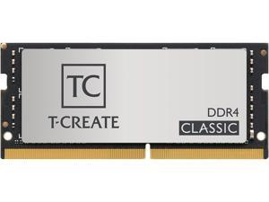 Team T-CREATE CLASSIC 64GB (2 x 32GB) 260-Pin DDR4 SO-DIMM DDR4 3200 (PC4 25600) Laptop Memory Model TTCCD464G3200HC22DC-S01