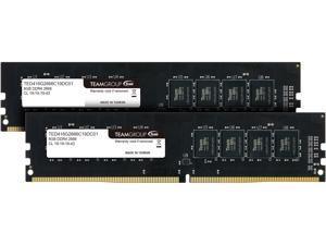 Team Elite 16GB (2 x 8GB) 288-Pin DDR4 SDRAM DDR4 2666 (PC4 21300) Desktop Memory Model TED416G2666C19DC01