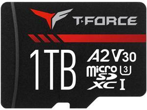 TEAM GROUP T-FORCE GAMING A2 CARD microSDXC 1TB UHS-I/U3/V30/A2 RETAIL w/o Adapter, Read/Write Speed Up to 100/90MB/s (TTUSDX1TIV30A202)