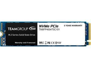 Team Group MP34 M.2 2280 4TB PCIe 3.0 x4 with NVMe 1.3 3D NAND Internal Solid State Drive (SSD) TM8FP4004T0C101