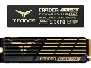 Team Group T-FORCE CARDEA A440 M.2 2280 1TB PCIe Gen 4.0 x4 NVMe 1.4 Internal Solid State Drive (SSD) TM8FPZ001T0C327