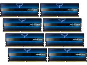 Team T-Force XTREEM ARGB 128GB (8 x 16GB) 288-Pin DDR4 SDRAM DDR4 3600 (PC4 28800) Desktop Memory Model TF10D4128G3600HC18JOC01