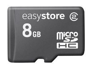 EasyStore 8GB microSDHC Flash Card Model SDSDQES-008G-G11M