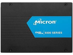 "Micron 9300 PRO Series MTFDHAL7T6TDP-1AT1ZABYY 2.5"" U.2 7.68TB PCI-Express 3.0 x4 NVMe 64-layer 3D TLC NAND Enterprise Solid State Drive"