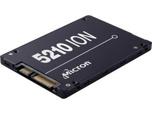 "Micron 5210 ION MTFDDAK1T9QDE-2AV1ZABYY 2.5"" 1.92TB SATA III 3D QLC Enterprise Solid State Drive"