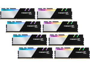 G.SKILL Trident Z Neo Series 256GB (8 x 32GB) 288-Pin DDR4 SDRAM DDR4 3600 (PC4 28800) Intel XMP 2.0 Desktop Memory Model F4-3600C18Q2-256GTZN
