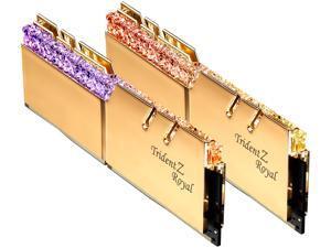 G.SKILL Trident Z Royal Series 32GB (2 x 16GB) 288-Pin DDR4 SDRAM DDR4 4000 (PC4 32000) Intel XMP 2.0 Desktop Memory Model F4-4000C17D-32GTRGB