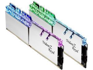 G.SKILL Trident Z Royal Series 32GB (2 x 16GB) 288-Pin DDR4 SDRAM DDR4 4000 (PC4 32000) Intel XMP 2.0 Desktop Memory Model F4-4000C17D-32GTRSB