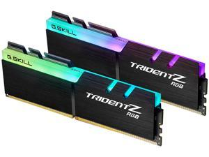 G.SKILL TridentZ RGB Series 32GB (2 x 16GB) 288-Pin DDR4 SDRAM DDR4 4000 (PC4 32000) Intel XMP 2.0 Desktop Memory Model F4-4000C17D-32GTZRB