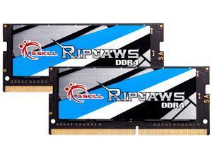 G.SKILL Ripjaws Series 16GB (2 x 8GB) 260-Pin DDR4 SO-DIMM DDR4 3200 (PC4 25600) Laptop Memory Model F4-3200C22D-16GRS