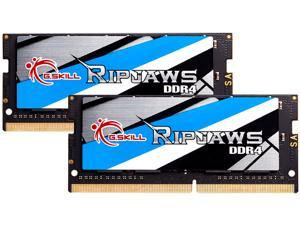 G.SKILL Ripjaws Series 32GB (2 x 16GB) 260-Pin DDR4 SO-DIMM DDR4 3200 (PC4 25600) Laptop Memory Model F4-3200C22D-32GRS