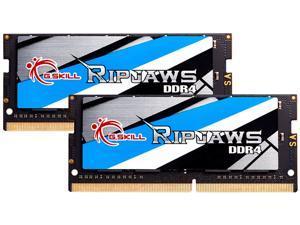 G.SKILL Ripjaws Series 64GB (2 x 32GB) 260-Pin DDR4 SO-DIMM DDR4 3200 (PC4 25600) Laptop Memory Model F4-3200C22D-64GRS