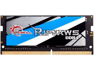 G.SKILL Ripjaws Series 16GB 260-Pin DDR4 SO-DIMM DDR4 3200 (PC4 25600) Laptop Memory Model F4-3200C22S-16GRS