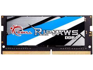 G.SKILL Ripjaws Series 32GB 260-Pin DDR4 SO-DIMM DDR4 3200 (PC4 25600) Laptop Memory Model F4-3200C22S-32GRS