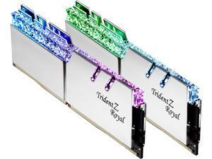 G.SKILL Trident Z Royal Series 32GB (2 x 16GB) 288-Pin DDR4 SDRAM DDR4 4000 (PC4 32000) Intel XMP 2.0 Desktop Memory Model F4-4000C16D-32GTRS
