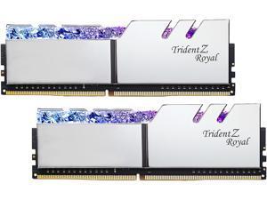 G.SKILL Trident Z Royal Series 64GB (2 x 32GB) 288-Pin DDR4 SDRAM DDR4 4000 (PC4 32000) Intel XMP 2.0 Desktop Memory Model F4-4000C18D-64GTRS